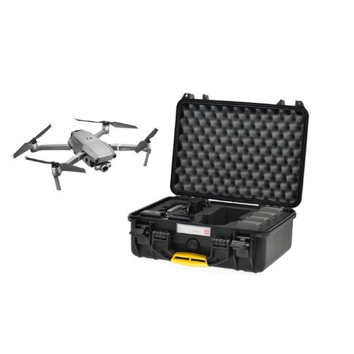 HPRC 2400 - Hard Case for DJI Mavic 2 Pro / Zoom with Standard Controller (Black)