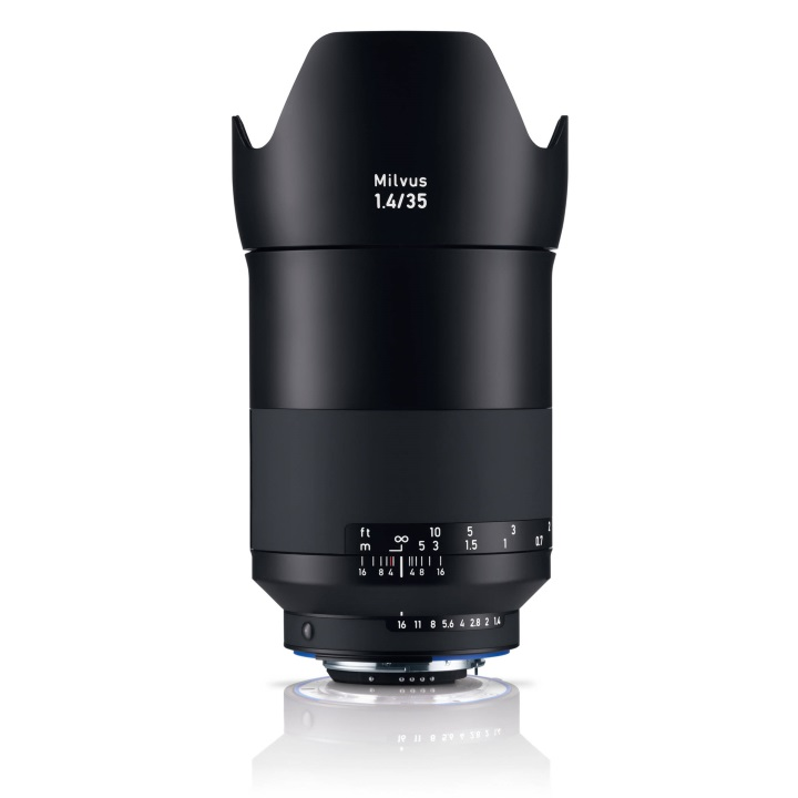 Zeiss Milvus 35mm f/1.4 ZF.2 Lens for Nikon