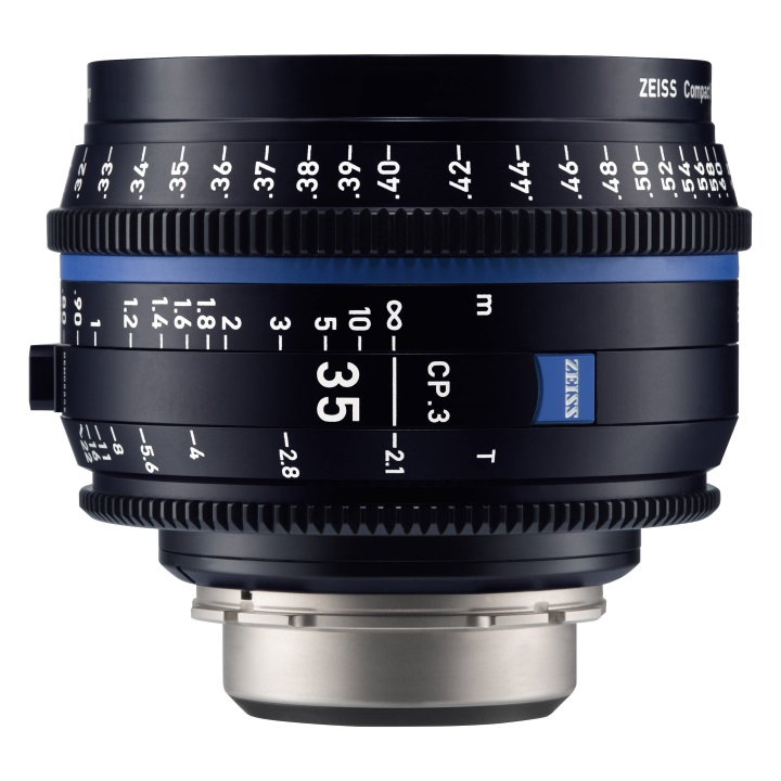 Zeiss CP.3  35mm/T2.1 Feet Compact Prime Cine Lens for Canon EF Mount