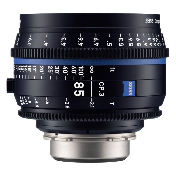 Zeiss CP.3 85mm/T2.1 Feet Compact Prime Cine Lens for PL Mount