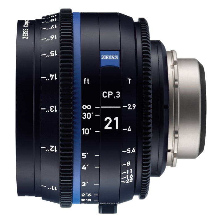 Zeiss CP.3 21mm/T2.9 Feet Compact Prime Cine Lens