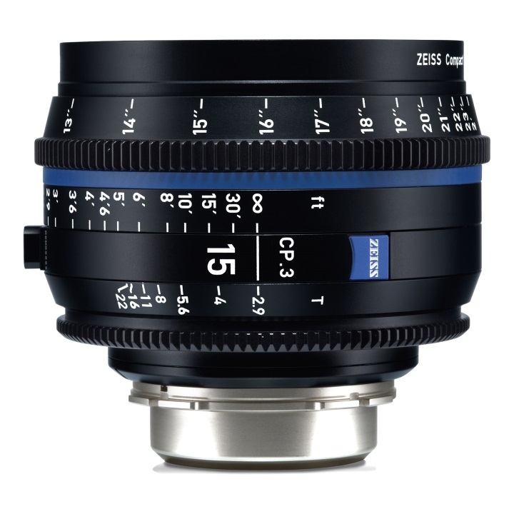Zeiss CP.3 15mm/T2.9  Feet Compact Prime Cine Lens for PL Mount