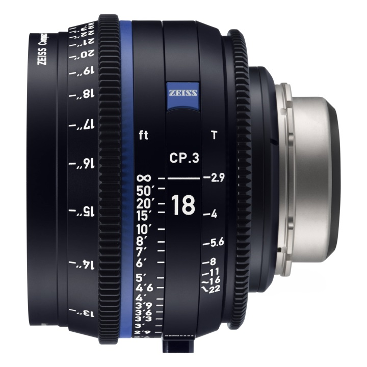 Zeiss CP.3 18mm/T2.9 Feet Compact Prime Cine Lens