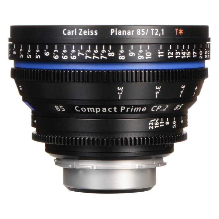 Zeiss CP.2 85mm/T2.1 Feet Compact Prime Cine Lens for EF Mount