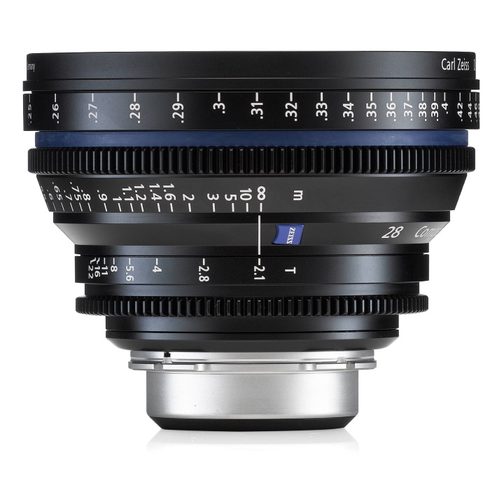 Zeiss CP.2 28mm/T2.1 Feet Compact Prime Cine Lens for PL Mount