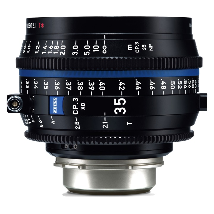 Zeiss CP.3 35mm T2.9 Feet XD eXtended Data Compact Prime Cine Lens for PL Mount