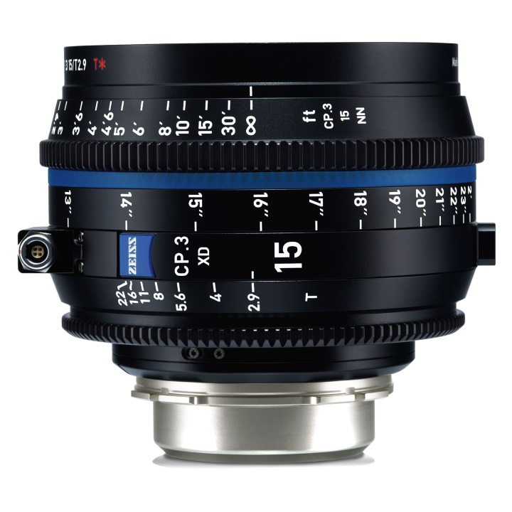 Zeiss CP.3 15mm T2.9 PL feet XD eXtended Data