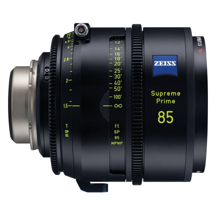 Zeiss Supreme Prime 85mm/T1.5 Feet Lens for PL Mount