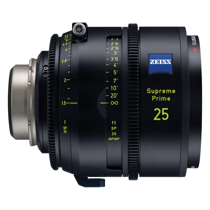 Zeiss Supreme Prime 25mm/T1.5 Feet Lens for PL Mount