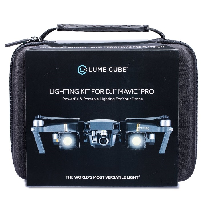 Lume Cube for Mavic Pro Kit - 2 Lume Cubes + Mavic Pro Mounts