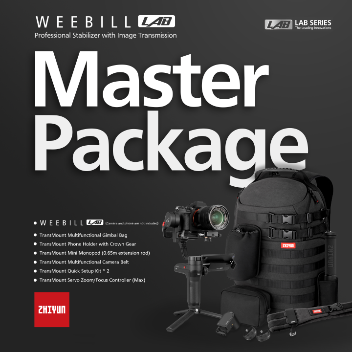 Zhiyun-Tech Weebill Lab Master Pack