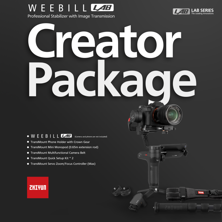 Zhiyun-Tech Weebill Lab Creator Pack