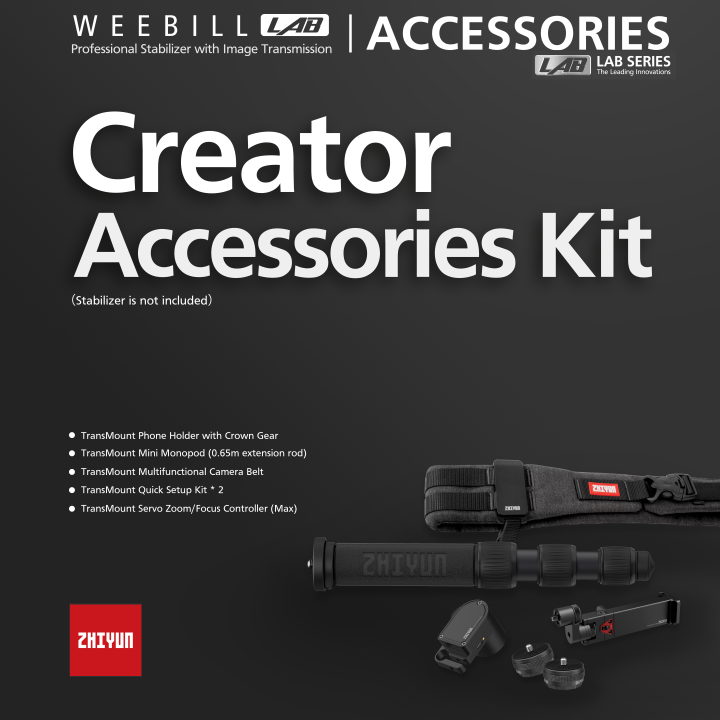 Zhiyun-Tech Weebill Lab Creator Accessory Kit **