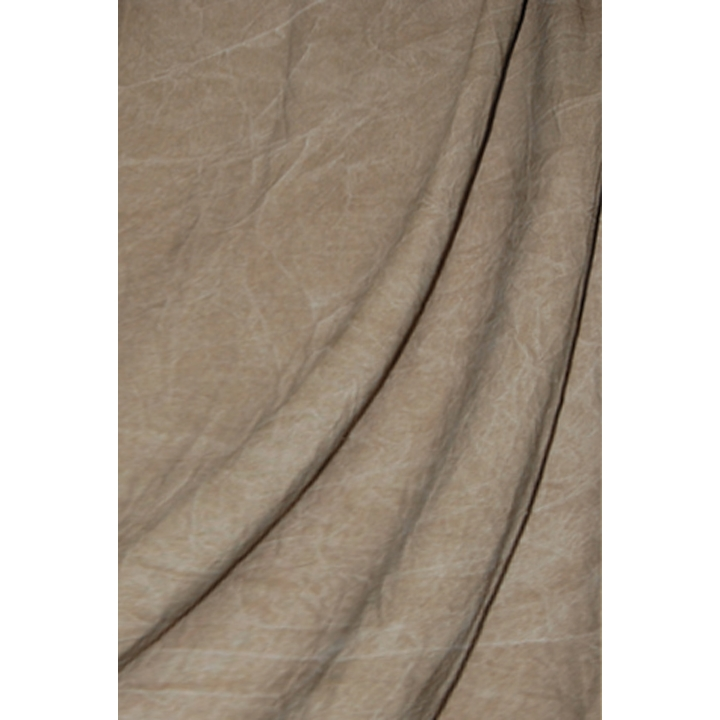 Savage Washed Muslin Brown 3.04m x 7.31m Backdrop