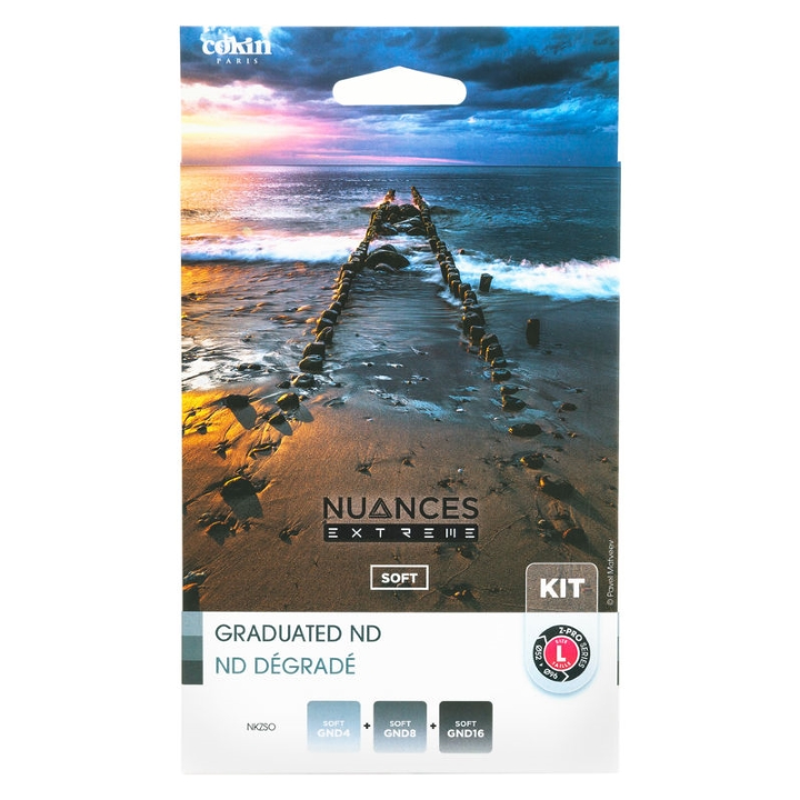 Cokin Nuances Ext Soft Kit L (Z) GND4, GND8 and GND16