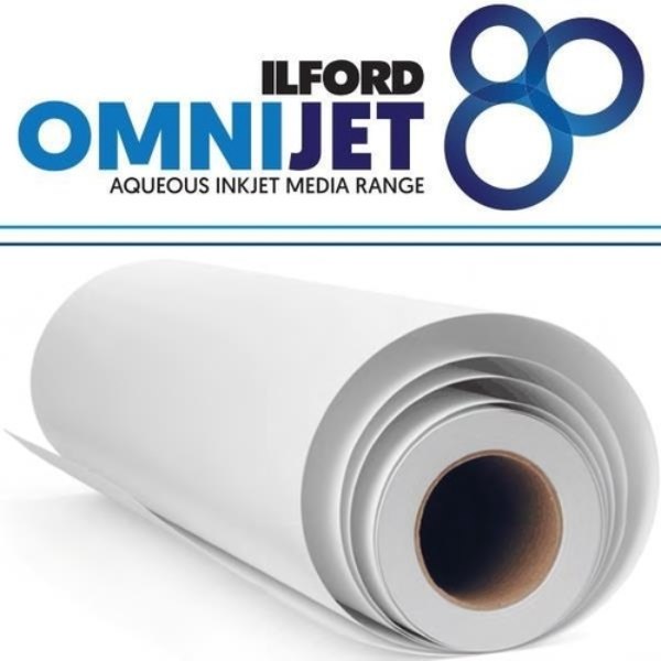 Ilford Omnijet Gloss Paper 7mm 42 x 59.4cm 50 Sheets ON2GP7