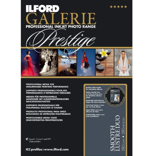 Ilford Galerie Smooth Lustre Duo 280gsm 12x12