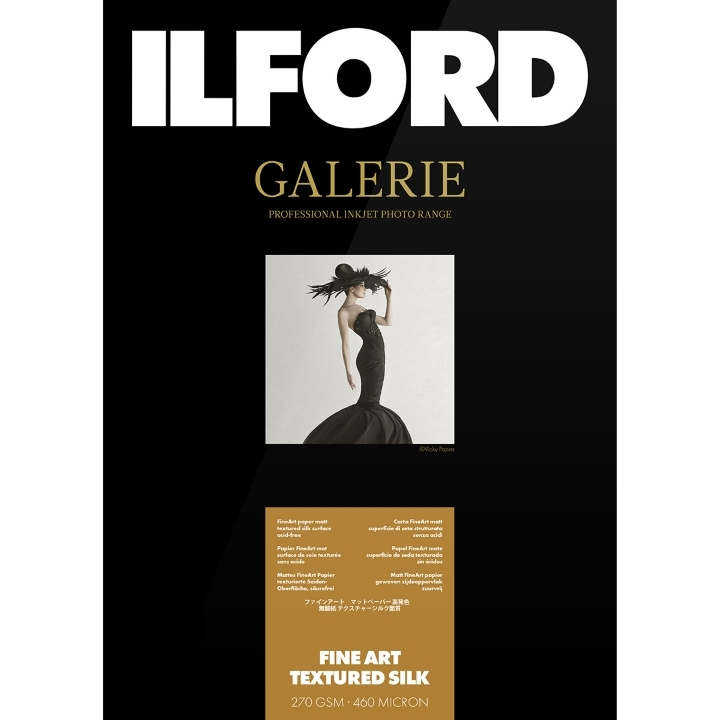 Ilford Galerie Fine Art Textured Silk 270gsm A2 25 Sheets
