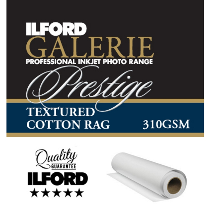 Ilford Galerie Textured Cotton Rag 310gsm 17