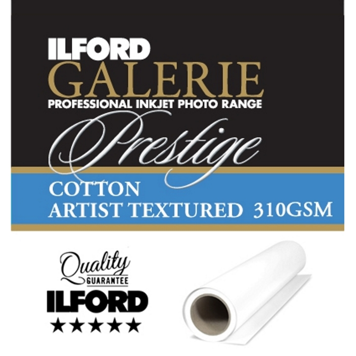 Ilford Galerie Cotton Artist Textured 310gsm 50