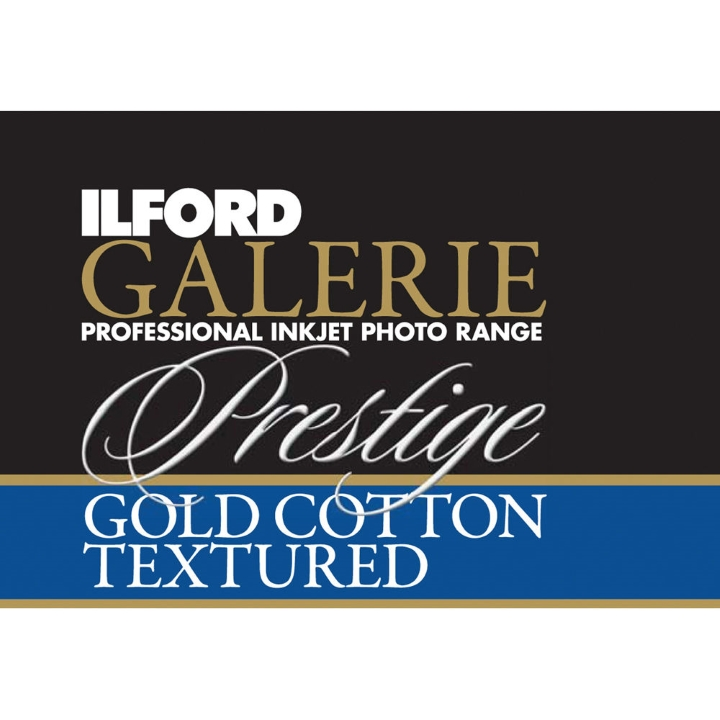 Ilford Galerie Gold Cotton Textured (330gsm) 50