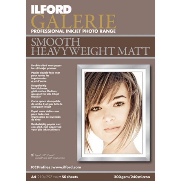 Ilford Smooth Heavyweight Matt 200gsm 17x22