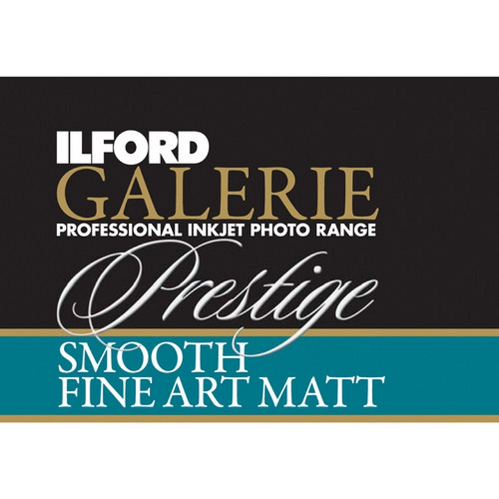 Ilford Galerie Smooth Fine Art Matt 190gsm 8.3x11.7
