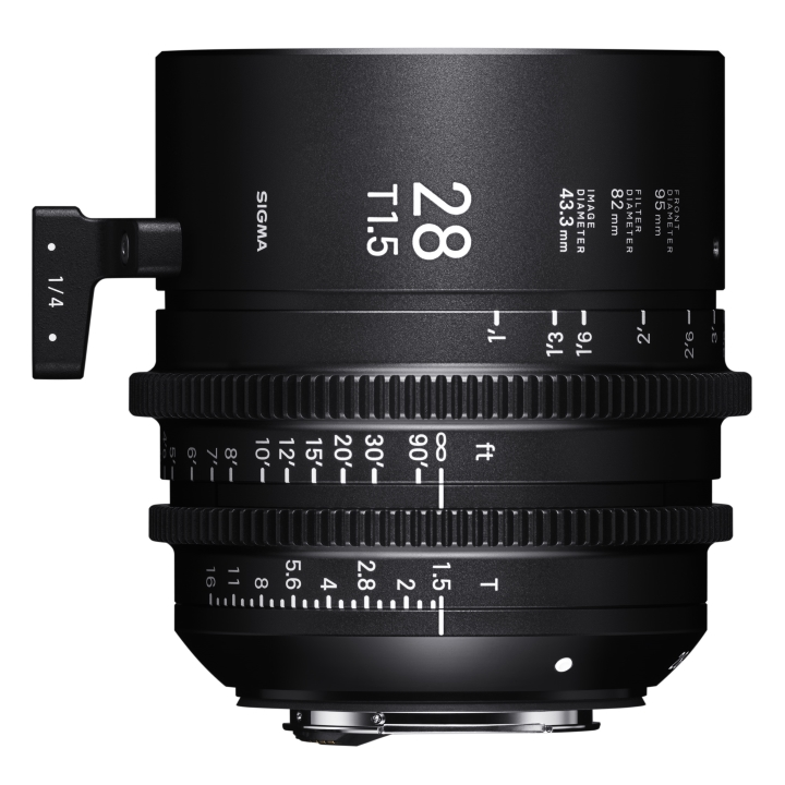 Sigma 28mm T1.5 Cine Lens for Sony E-Mount