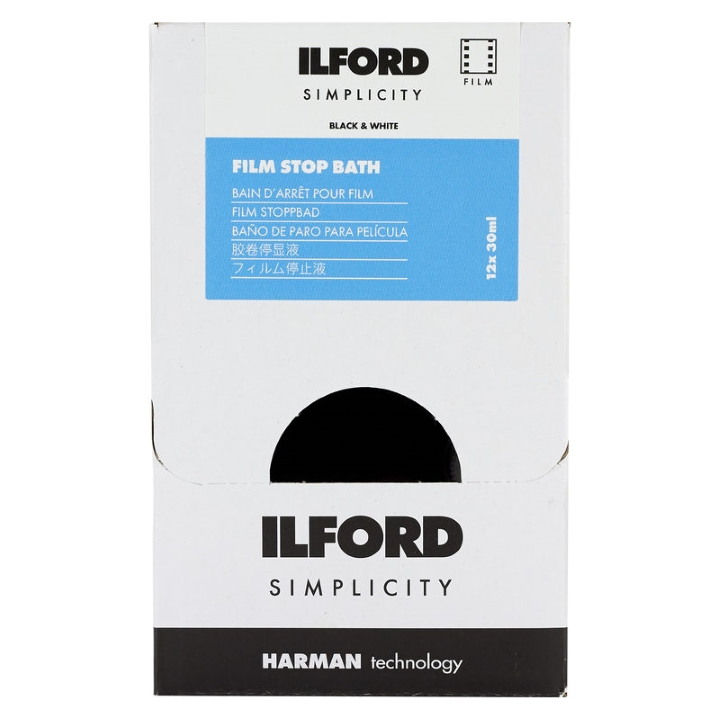 Ilford Simplicity Stop Bath (12-Pack) - Dealer Pack