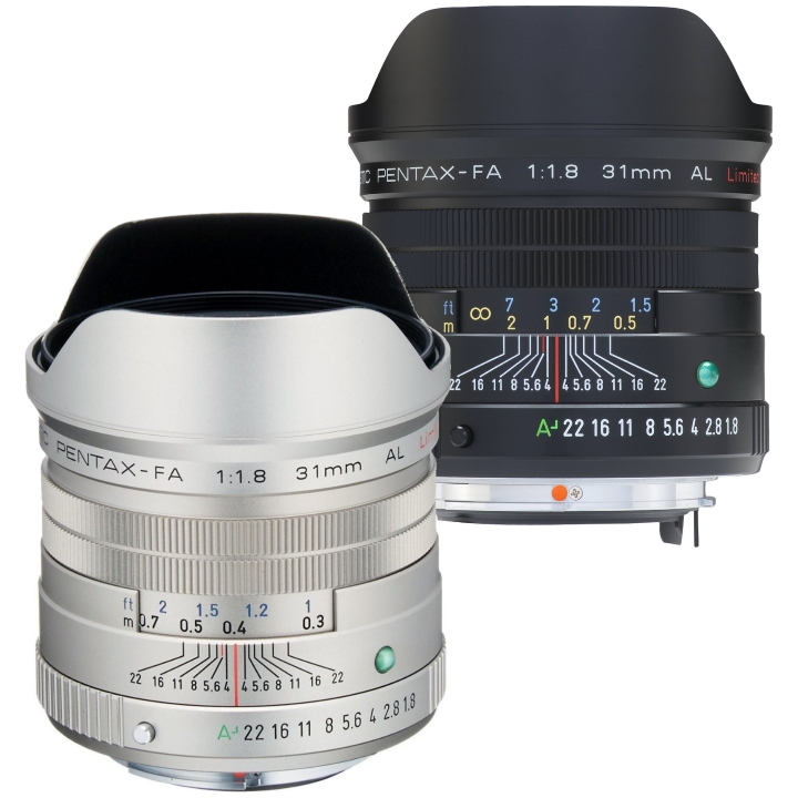 Pentax FA 31mm f/1.8 Limited Lens