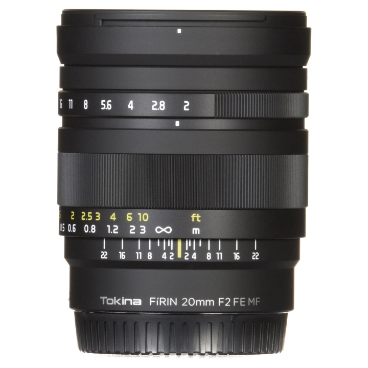 Tokina FiRIN 20mm f/2 FE MF Lens for Sony E-Mount (Manual Focus )