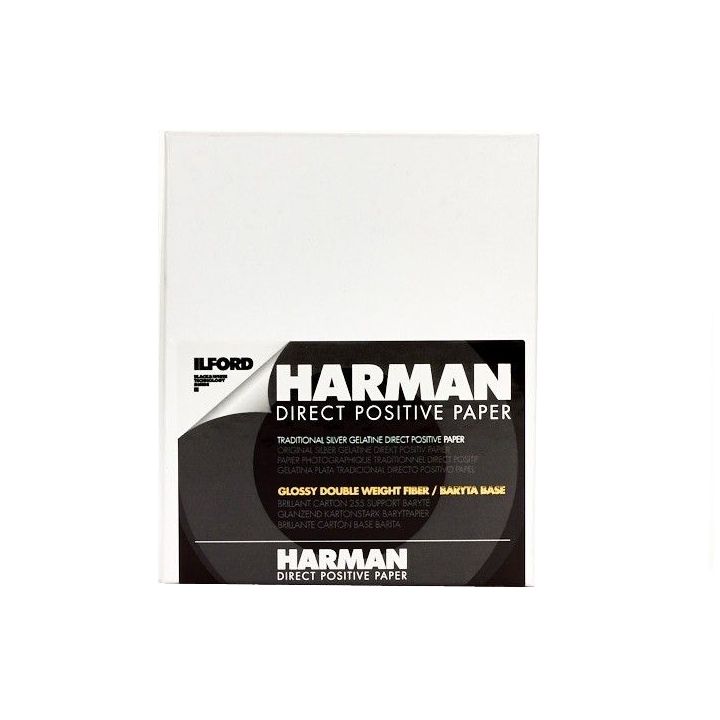 Ilford Harman Direct Positive FB 12.7x17.8cm 25 Sheets DIRPOS1K