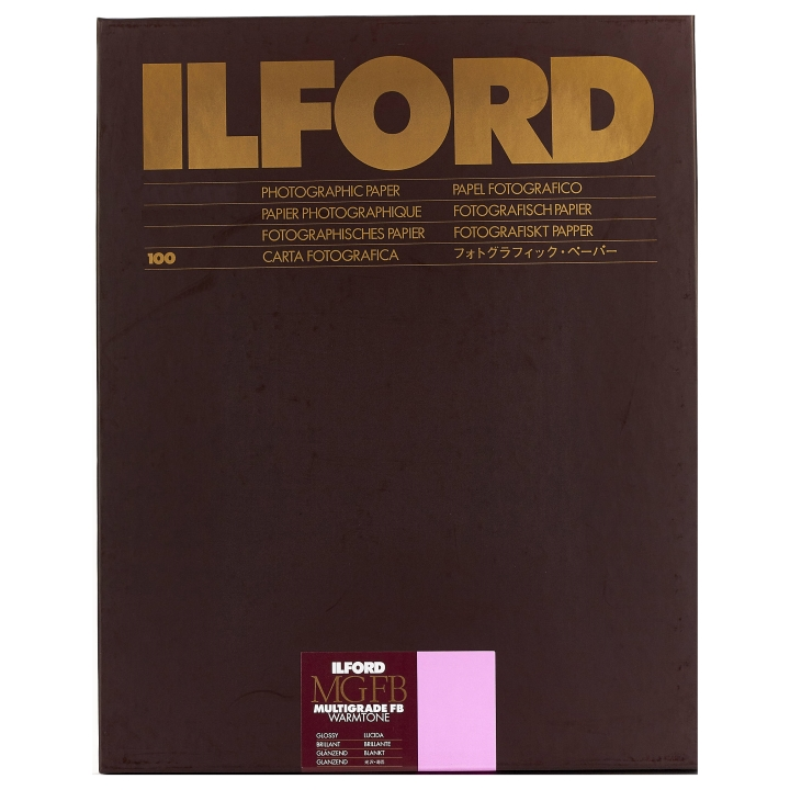 Ilford Multigrade FB Warmtone 1K Glossy 12.7x17.8cm 100 Sheets MGFBWT1K