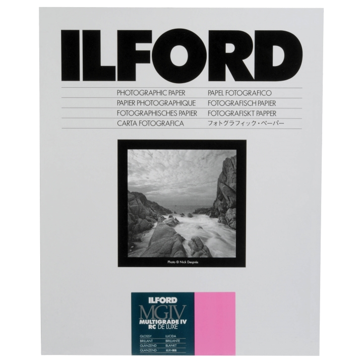 Ilford Multigrade IV RC Deluxe 1M Glossy 24x30.5cm 50 Sheets MG4RC1M