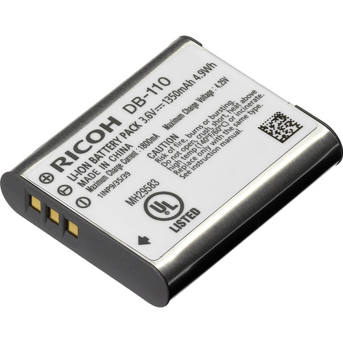 Ricoh DB-110 OTH Rechargeable Battery for GR III