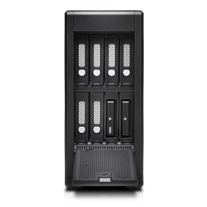 G-Technology G-SPEED Shuttle XL Thunderbolt with ev Series Bay 24TB
