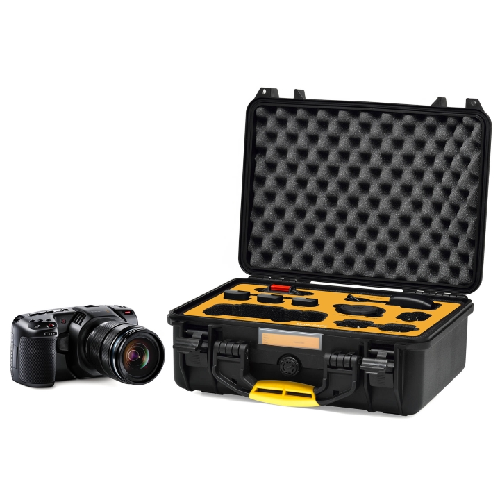 HPRC 2400 Case for Blackmagic Pocket 4K Camera - Black