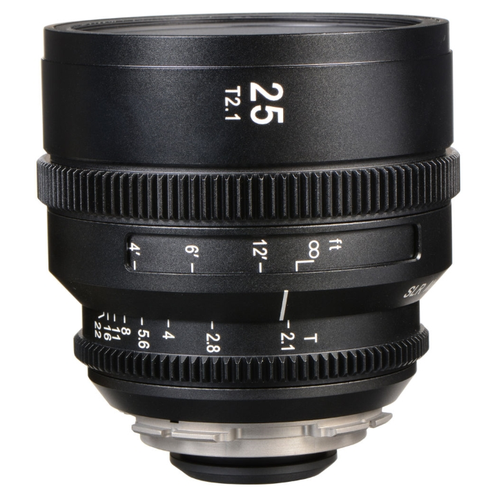SLR Magic APO HyperPrime Cine 25mm T2.1 lens PL Mount