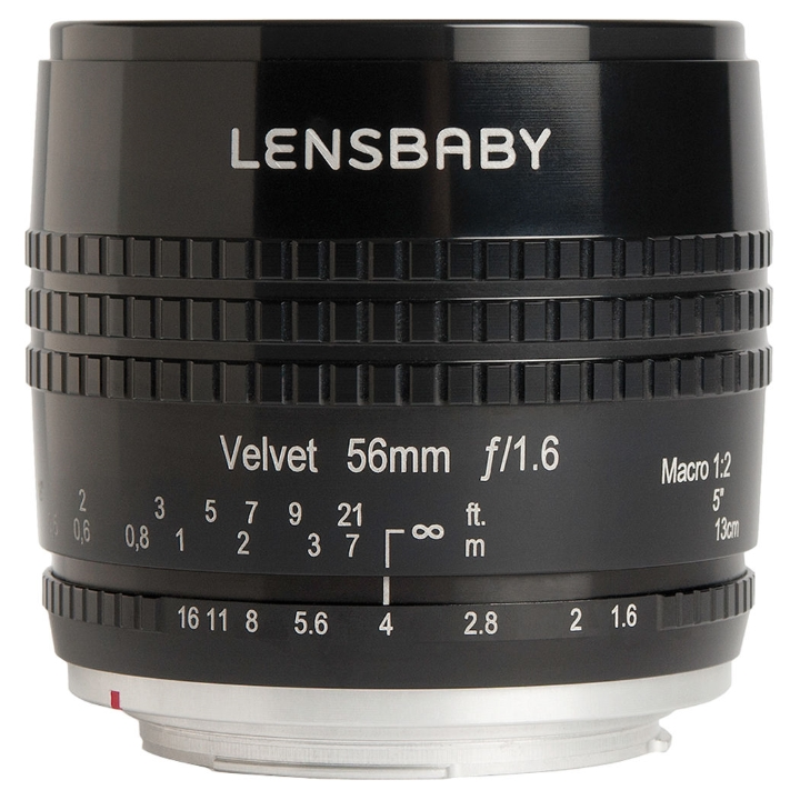 Lensbaby Velvet 56mm f/1.6 Lens for Canon EF