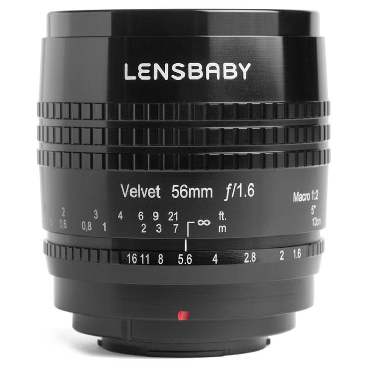 Lensbaby Velvet 56mm f/1.6 Lens for Micro Four Thirds