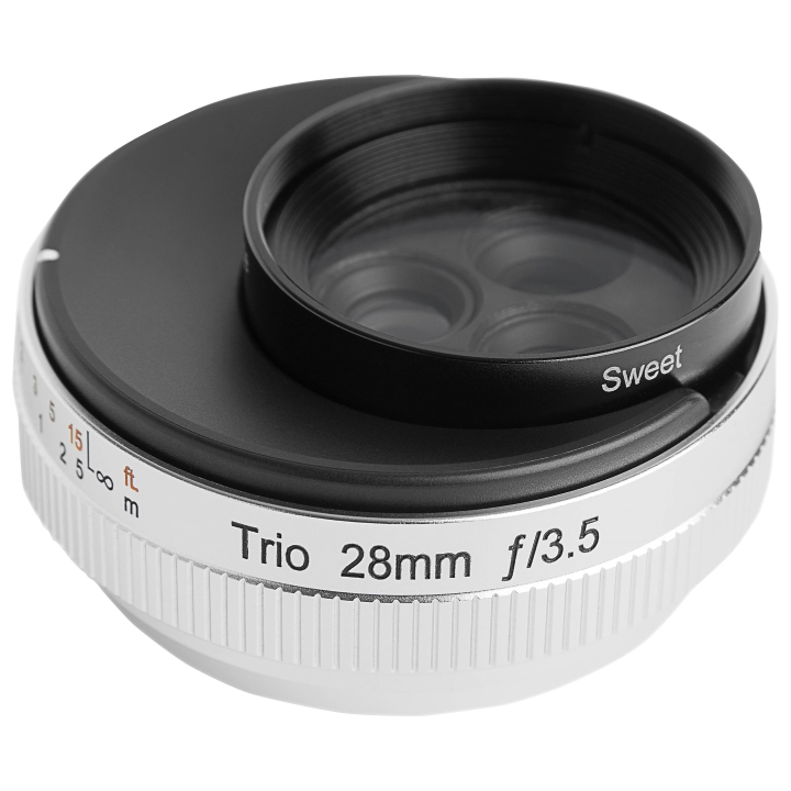 Lensbaby Trio 28mm f/3.5 Lens for Fujifilm X
