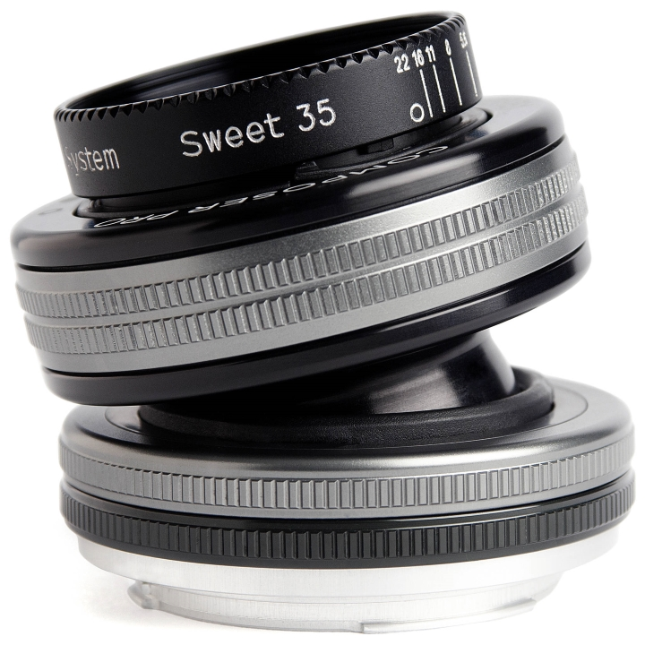 Lensbaby Composer Pro II with Sweet 35 Optic Lens for Canon EF
