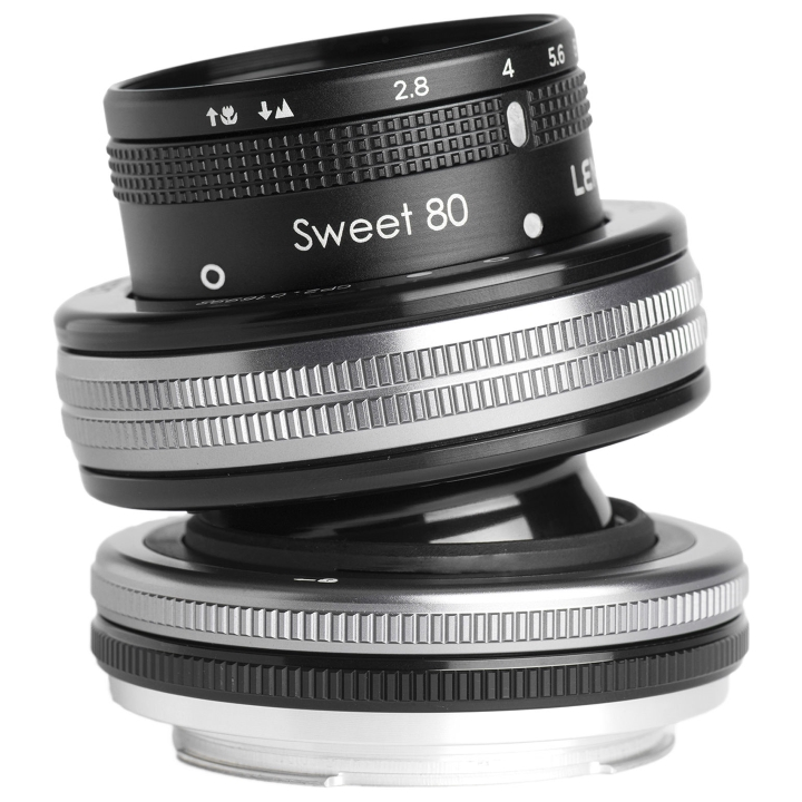 Lensbaby Composer Pro II with Sweet 80 Optic Lens for Canon EF **