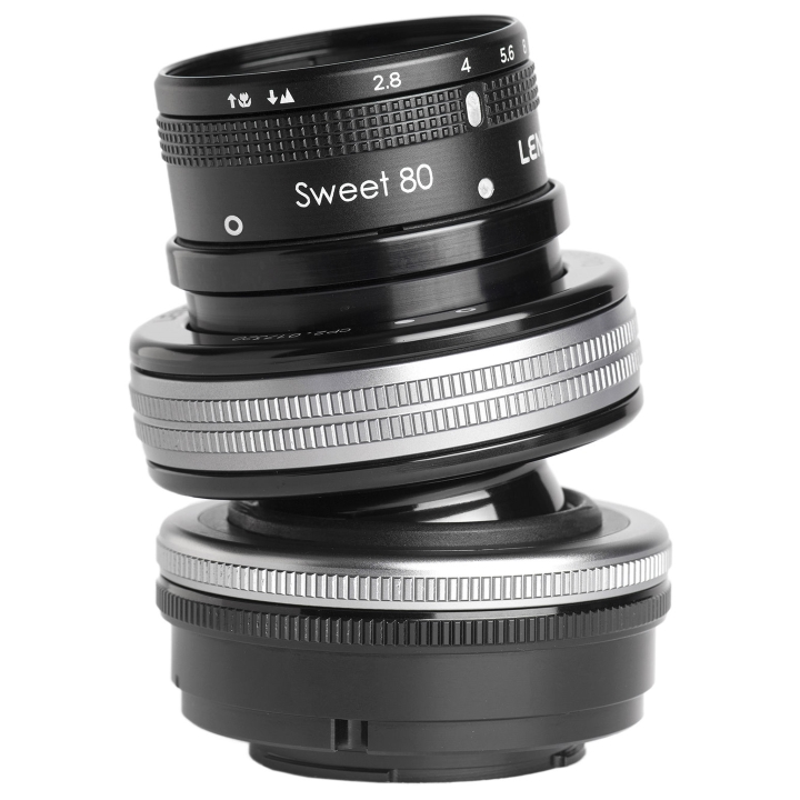 Lensbaby Composer Pro II with Sweet 80 Optic Lens for Micro Four Thirds **