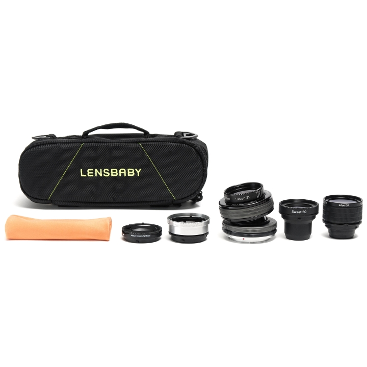 Lensbaby Composer Pro II System Kit for Nikon F Mount Cameras**