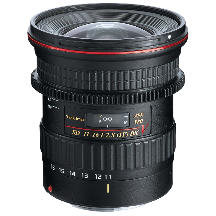 Tokina 11-16mm f/2.8 V AT-X Pro DX Lens for Canon