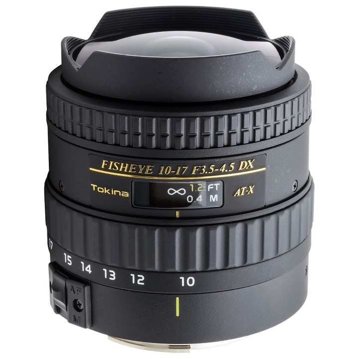Tokina 10-17mm f/3.5-4.5 DX with Built-In Lens Hood for Canon