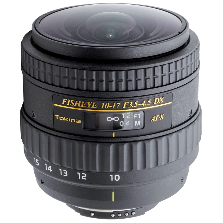 Tokina 10-17mm f/3.5-4.5 DX No Built-in Lens Hood for Nikon