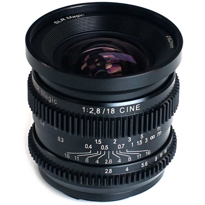 SLR Magic CINE 18mm F/2.8 lens E Mount