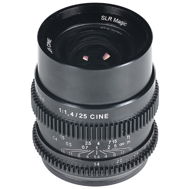 SLR Magic CINE 25mm F/1.4 lens E Mount